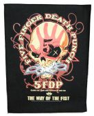 Five Finger Death Punch - 'The Way of the Fist' Giant Backpatch
